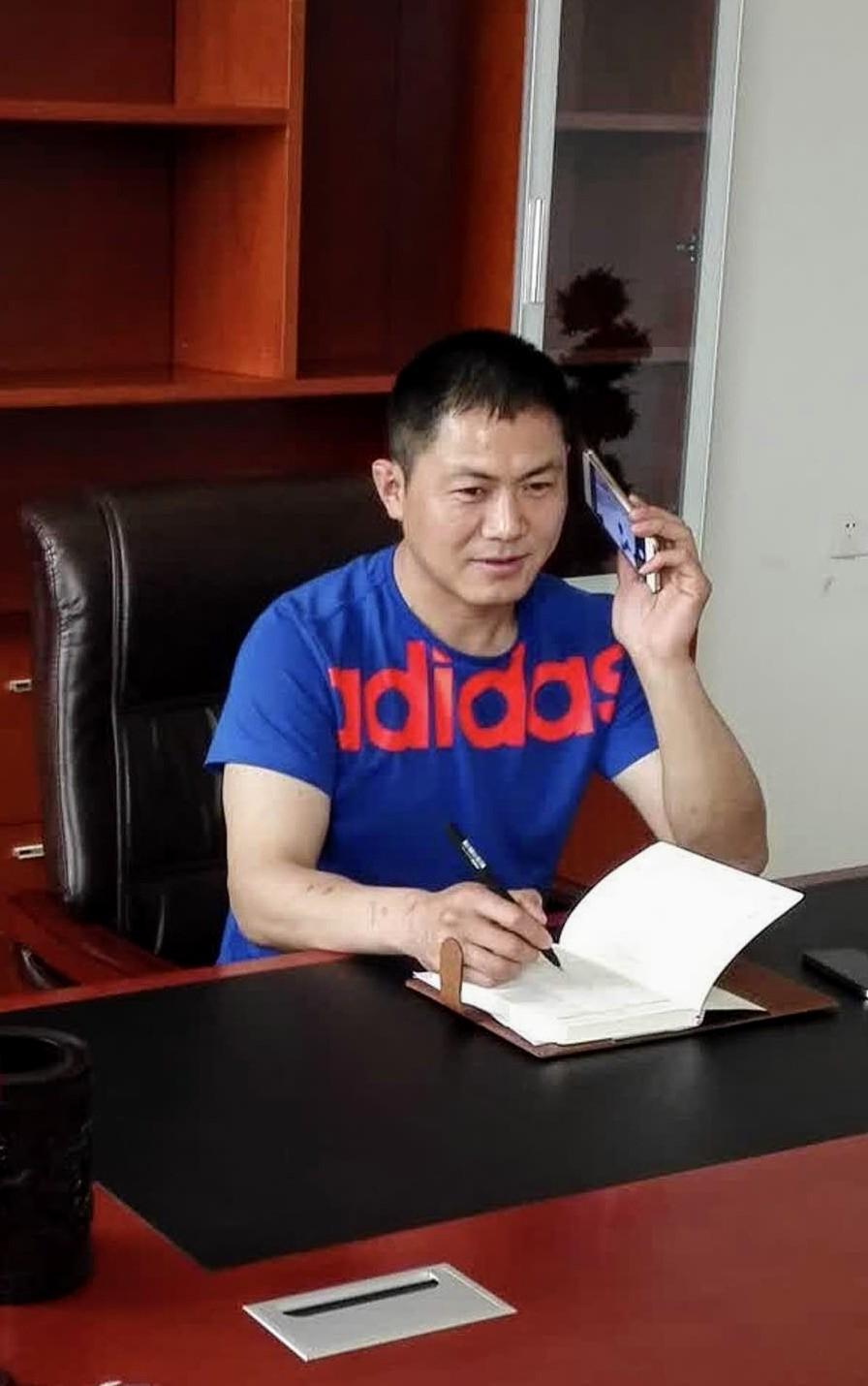 魏集东朱村王庄组王勇捐助1000元资金